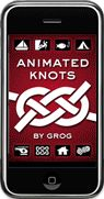 Animated Knots by Grog™  Well over 100 different knots, sorted by use: e.g. Arborist Knots, Boating, Climbing, Fishing, et c.; plus rope care, terminology, safety, and what's good rope for which job. Each know has a step by step slide show of how it's done, plus a video from YouTube. Now there's an app for most knots, too: Android, iPad, and iPhone. All the YouTube videos are organized into a channel. Going in Life Skills.