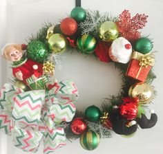 A personal favorite from my Etsy shop https://www.etsy.com/listing/209171410/christmas-elf-wreath-presents