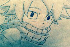 Fairy Tail animesinden Natsu