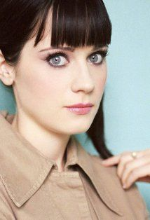 Zooey Deschanel - LOVE HER! She is most certainly one of my muses. She's adorable and goofy and never afraid to be herself or even laugh at herself. Love this lady!