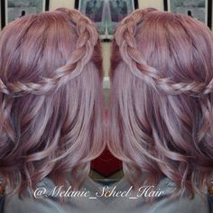 Smokey pink dream  #purplehair #braid #curls #waves #haircolorinspiration #wella #instamatics #pinkhair #modernsalon #btcpics #americansalon #hairgoals #hippiechic  #kevinmurphy #haircolorinspo #pastelhair #cincinnati #ohio #authentichairarmy #cincinnatihair
