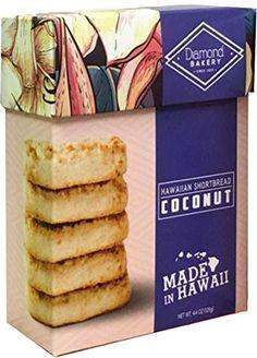 Diamond Bakery Coconut Hawaiian Macadamia Nut Shortbread Cookies Hawaiian Cookies, Shortbread Cookies, Gourmet Recipes, Bakery, Coconut, Diamond, Relationships, Swag, Iphone