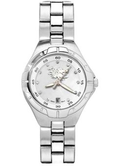 South Carolina Gamecocks Women's Pearl Watch with Stainless Steel Bracelet