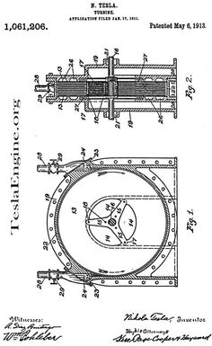 sketches by nikola tesla | Tesla Engine Builders Association