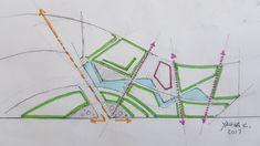 Landscape Architecture Drawing, Architecture Concept Drawings, Landscape And Urbanism, Landscape Plans, Landscape Design, Site Development Plan, Architecture Student Portfolio, Urban Design Concept, Sustainable Architecture