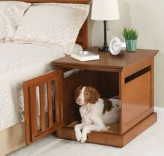 This nightstand dog house: | 21 Gifts For Your Best Friend Who Is Also A Dog