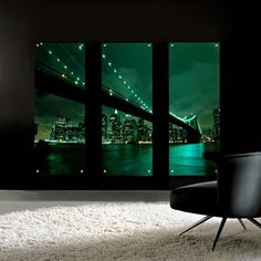 Green Brooklyn Bridge Acrylic Perspex Art from Lucy Art, in black and green. Artwork Prints, Wall Prints, Acrylic Panels, Painting Plastic, Acrylic Artwork, Art For Sale, Cool Art, Swimming Pools, Contemporary Art