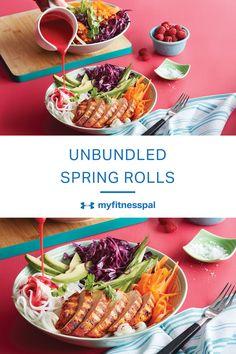 Fresh spring rolls a