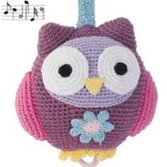 Want to make a cute owl mobile for my baby girl