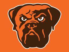 The Cleveland Browns mascot Nfl Browns, Browns Fans, Cleveland Browns Wallpaper, Cleveland Browns Football, Cleveland Rocks, Johnny Manziel, Brown Wallpaper, Old Logo, Dog Breeds