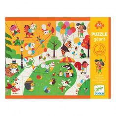 Puzzle géant Flocky - Le square Djeco