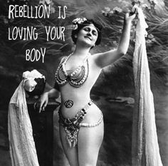 Be rebellious.