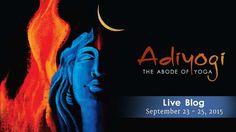Adi Yogi - Abode of Yoga - Consecration Live Blog