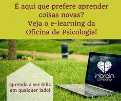 E-learning em português sobre os mais diversos tópicos relacionados com a Psicologia