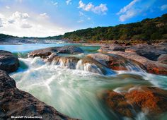 Perdenales River Texas  hill country