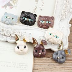 Find More Charms Information about New arrived 30pcs/lot MIX Alloy drip oil gold plated Cartoon Cute Rabbits/Cats heads Shape jewelry Charms diy decoration pendant,High Quality charms cherry,China pendant bracelet Suppliers, Cheap pendant manufacturer from multicolor kingdom on Aliexpress.com