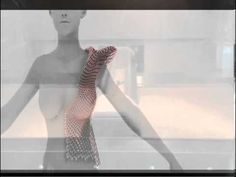 The World's First Fully Articulated 3-D Printed Gown