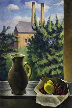 Alexander Kanoldt, Still Life, 1938