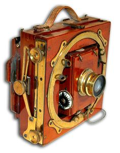 Thornton Picard Imperial Field Camera with Mahogany Body