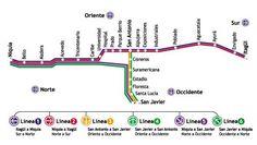 Mapa Metro Medellín
