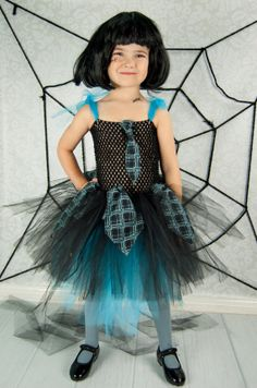 Monster High InspiredFrankie Stein Party Dress by TUTUEnvy on Etsy, $44.00