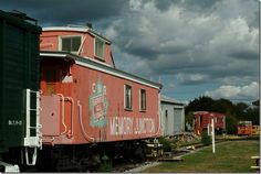 Memory Junction,museum,history,Brighton,CN,CP,Canadian National,Grand Trunk,Canadian Pacific,trains,railroad,railway,caboose