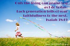 Isaiah 38:19