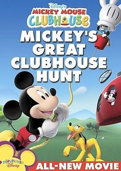 Mickey Mouse Clubhouse Mickeys Great Clubhouse Hunt (Dvd)