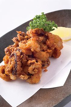 Tako Karaage, Deep-fried Octopus いいだこ唐揚げ