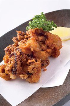 Tako Karaage - Deep-fried Octopus