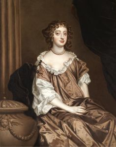 """Elizabeth, Lady Wriothesley, later Countess of Northumberland, and later Countess of Montagu"" by Sir Peter Lely"