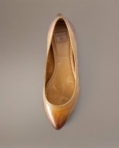 Frye Ballet Flats, the gray and camel are pretty, 9