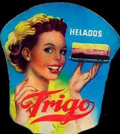 Helados Frio publicidad antigua