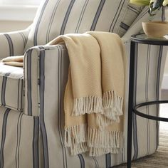 Serena Herringbone Throw   Layer on cozy warmth with this plush throw in a classic herringbone pattern.