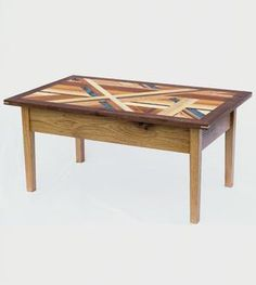 But like thats more than my rent tho.Reclaimed Wood Mosaic Coffee Table by Gray Fox Design Works on Scoutmob Shoppe Mosaic Coffee Table, Coffee Table Grey, Reclaimed Wood Coffee Table, Grey Table, Reclaimed Barn Wood, Recycled Wood, Wood Table, Coffee Tables, Wood Mosaic