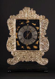Table clock with signs of the zodiac by Lukas Neusser and Samuel Berkmann, ca. 1645, Muzeum Archidiecezji Warszawskiej (MAW)