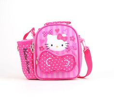 229495bac4 Hello Kitty Lunch Bag with Drink Bottle  Pink Bow in Characters Hello Kitty  at Sanrio