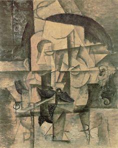 Картина Пабло Пикассо. Поэт. 1912