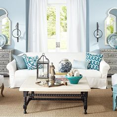 LOVE, LOVE EVERYTHING ABOUT THIS! Seaside Style for your Home