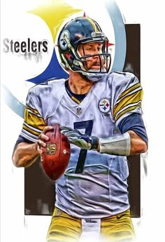 steelergalfan4life  - Ben Roethlisberger QB - Great Pic!