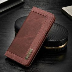 Leather Case with Wallet Card Holder For Samsung Galaxy S8, Galaxy S8 Plus and more.