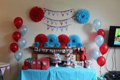 Mason's Elmo 1st Birthday Party  | CatchMyParty.com