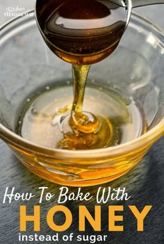 No need to give up on sweets just because you don't want to eat sugar. I'll tell you how to swap honey! Learning how to bake with honey is a must real foodies. #cleaneatingrecipes #realfood