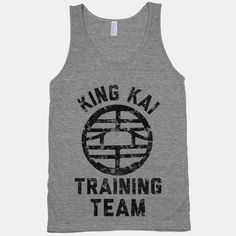 Dragon Ball Z - King Kai Training Team tank top #DBZ