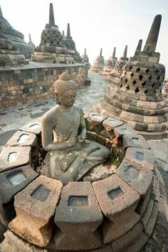 Borobudur Temple, Java, Indonesia. #RHDHV In 1969, we began work on a major restoration project at this important site. - #IIA4U