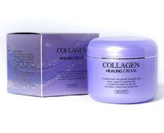 Korean Cosmetics Jigott Collagen Healing Moisturizer Cream for Women 100g  #JIGOTT