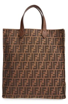 Fendi+'Zucca'+Logo+Jacquard+Tote+available+at+#Nordstrom