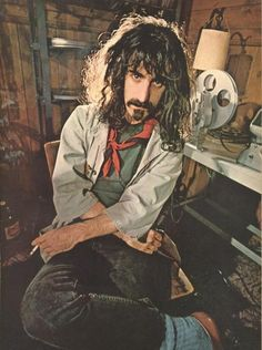 frank zappa  Went to one of his concerts. What a great experience.