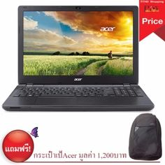 อย่าช้า  Acer Aspire (E5-575G-73WK) CPU i7, RAM 4GB, HDD 1TB, GeForce940M2GB - Black.  ราคาเพียง  19,579 บาท  เท่านั้น คุณสมบัติ มีดังนี้ ntel Core i7-6500U (2.50 GHz) Ram 4 GB DDR3L HDD 1 TB 5400 RPM NVIDIA GeForce GT 940M 2GBisplay: 15.6 inch (1366x768pixel)
