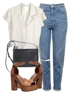 Ready to see 32 Casual Chic Cute Outfits For This Summer? Surely a strong point of a winning look is to make the wearer feel at ease and casual looks are without a doubt the most fashionable and comfortable at the same time! Tomboy Mode, Mode Ootd, Mode Outfits, Casual Outfits, Fashion Outfits, Womens Fashion, Polyvore Outfits Casual, Casual Shoes, Casual Ootd